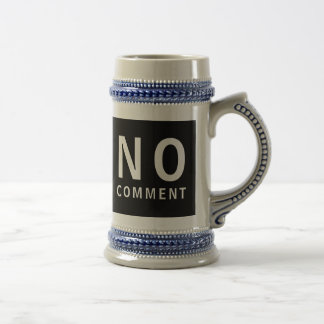 No Comment Cool Funny T-Shirt With Attitude Mugs