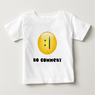 No Comment Txt Smiley T-Shirt