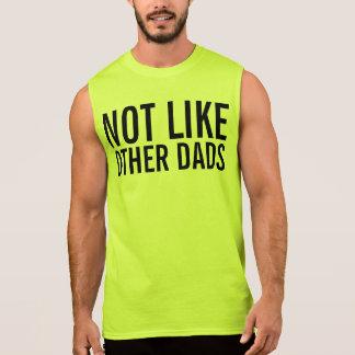 no como otros papás camiseta sin mangas