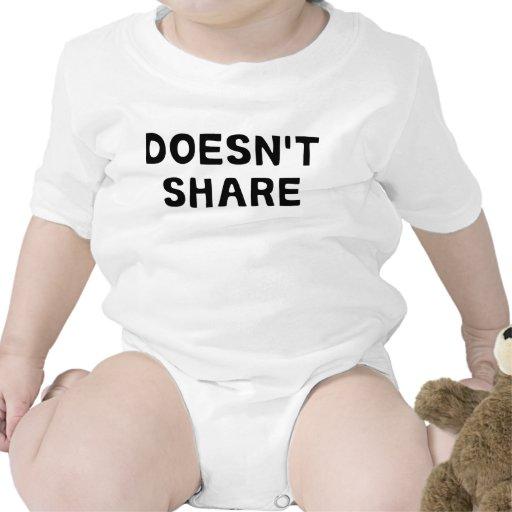 No comparte camiseta