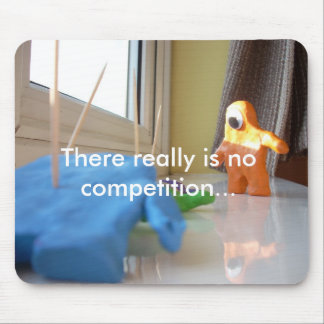 No Competition Mouse Pad
