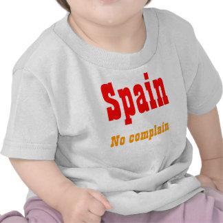 No complain spain t-shirts
