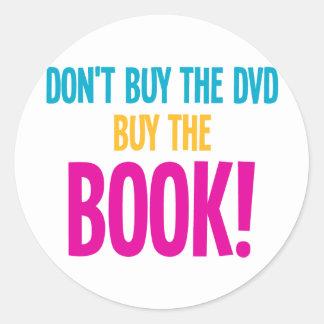 No compre El DVD, compran el libro Etiqueta Redonda