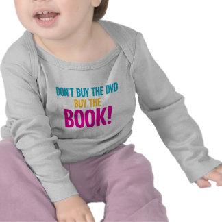 No compre El DVD, compran el libro Camisetas