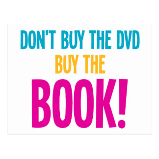 No compre El DVD, compran el libro Postal