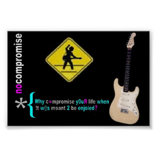 no compromise poster