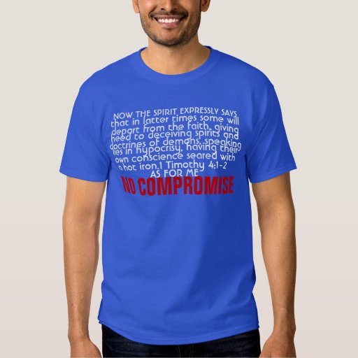 NO COMPROMISE TSHIRT
