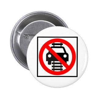 No conduzca en muestra de la carretera de las pist pin redondo de 2 pulgadas