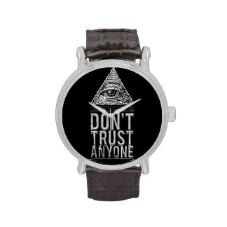 No confíe en cualquier persona relojes de mano