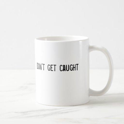 no consiga cogido taza básica blanca