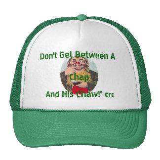 No consiga entre una grieta y sus gorras del