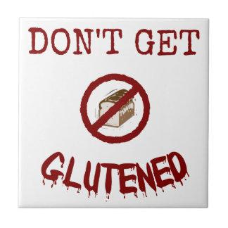 No consiga Glutened Teja