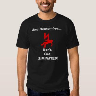 No consiga la camiseta eliminada remeras
