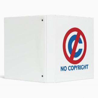 No Copyright 3 Ring Binder