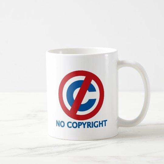 No Copyright Coffee Mug