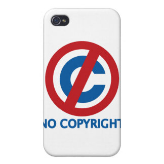 No Copyright iPhone 4 Cover