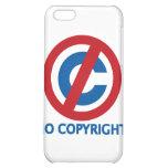 No Copyright iPhone 5C Cases