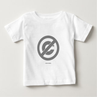 No Copyright (Not Copyrighted Attitude) Infant T-shirt