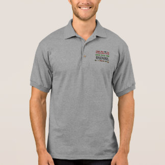 No Corporate Food Polo Shirt