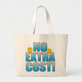 No Cost Life B Large Tote Bag