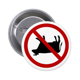 NO Cow Tipping! Button