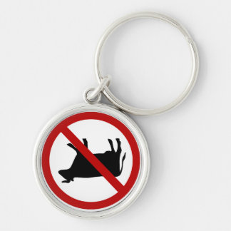 NO Cow Tipping! Keychain