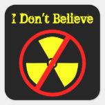 No crea al pegatina antinuclear de encargo del