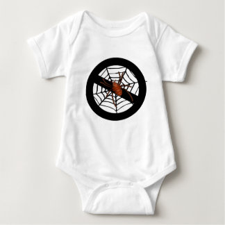 No creepy spiders baby bodysuit
