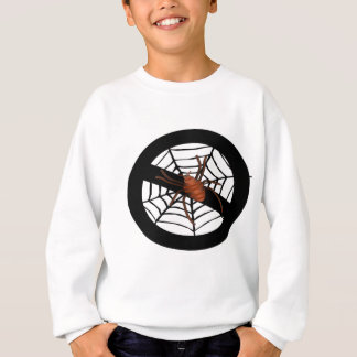 No creepy spiders sweatshirt