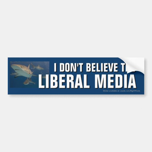 No creo a la pegatina para el parachoques liberal  pegatina de parachoque