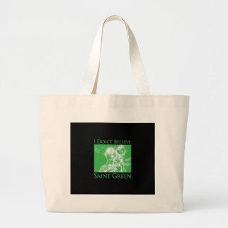 No creo verde del santo bolsa