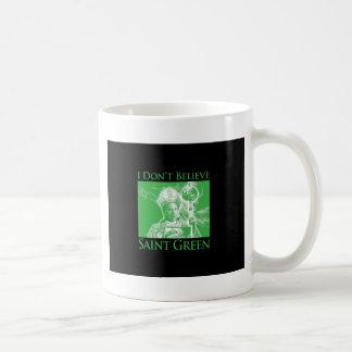 No creo verde del santo tazas