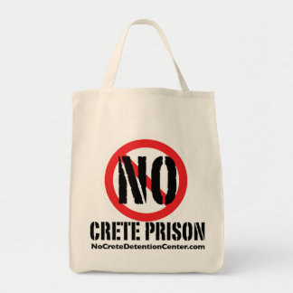 No Crete Prison Totebag Tote Bag