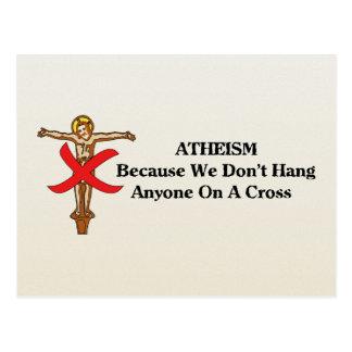 No Crosses Postcard