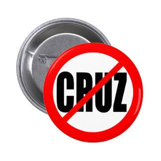 """NO CRUZ"" 2.25-inch Button"