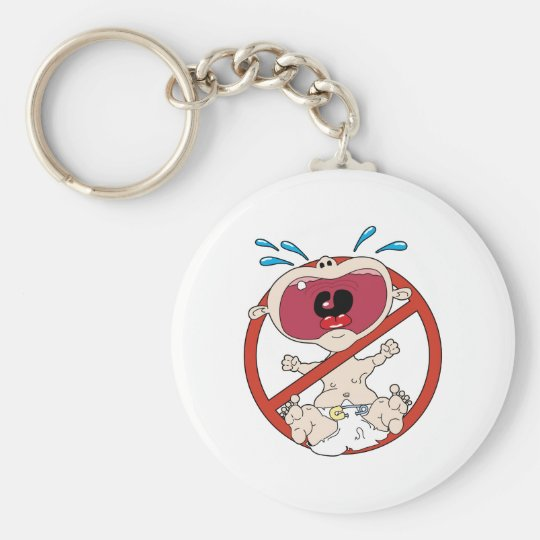 No Cry Babies key chain