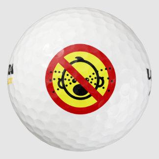 NO Cry Babies ⚠ Thai Airport Sign ⚠ Golf Balls