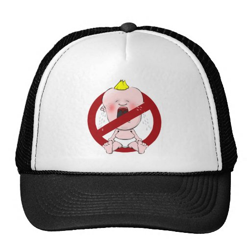 NO CRY BABIES TRUCKER HAT