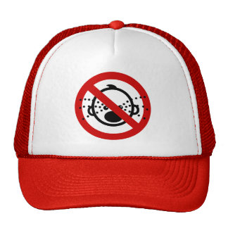 NO Cry Thai Airport Sign ⚠ Trucker Hat