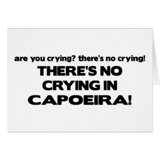 No Crying - Capoeira Card