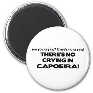 No Crying - Capoeira Fridge Magnet