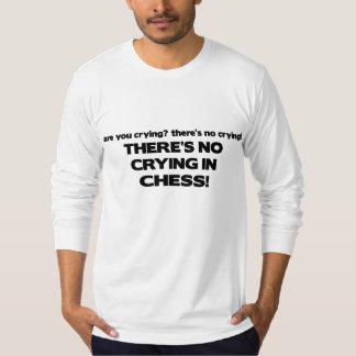 No Crying - Chess Shirt
