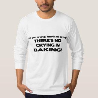 No Crying in Baking T-Shirt