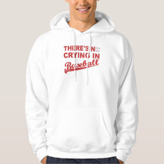 No Crying In Baseball (wine-red) Hoodie