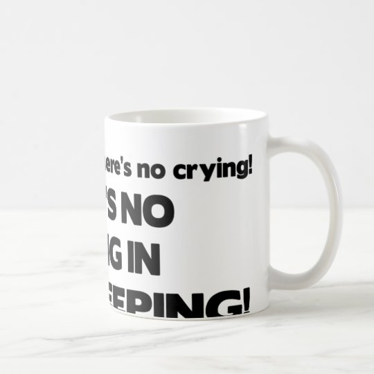 No Crying in Bookkeeping Coffee Mug