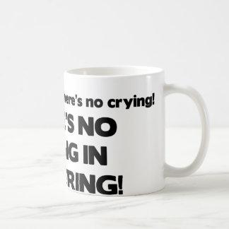 No Crying in Brokering Coffee Mug
