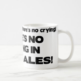 No Crying in Car Sales Coffee Mug