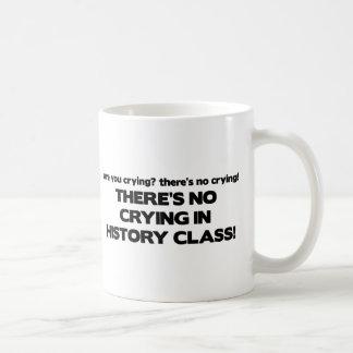 No Crying in History Class Coffee Mug