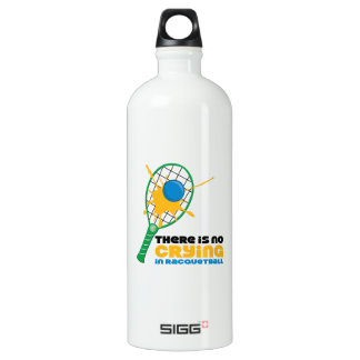 No Crying In Racquetball SIGG Traveler 1.0L Water Bottle