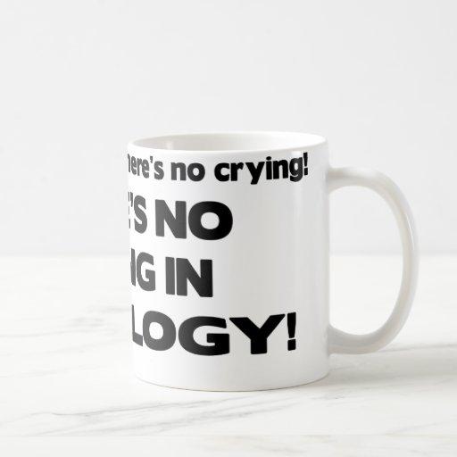 No Crying in Radiology Mugs
